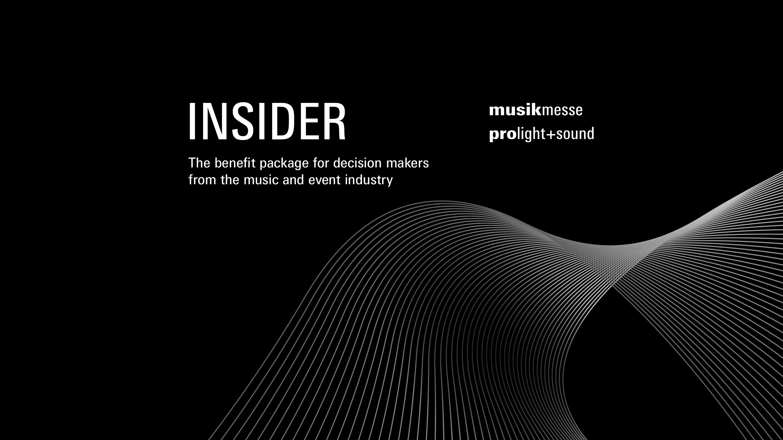 Benefit programme for specialist retailers: Prolight + Sound Insider