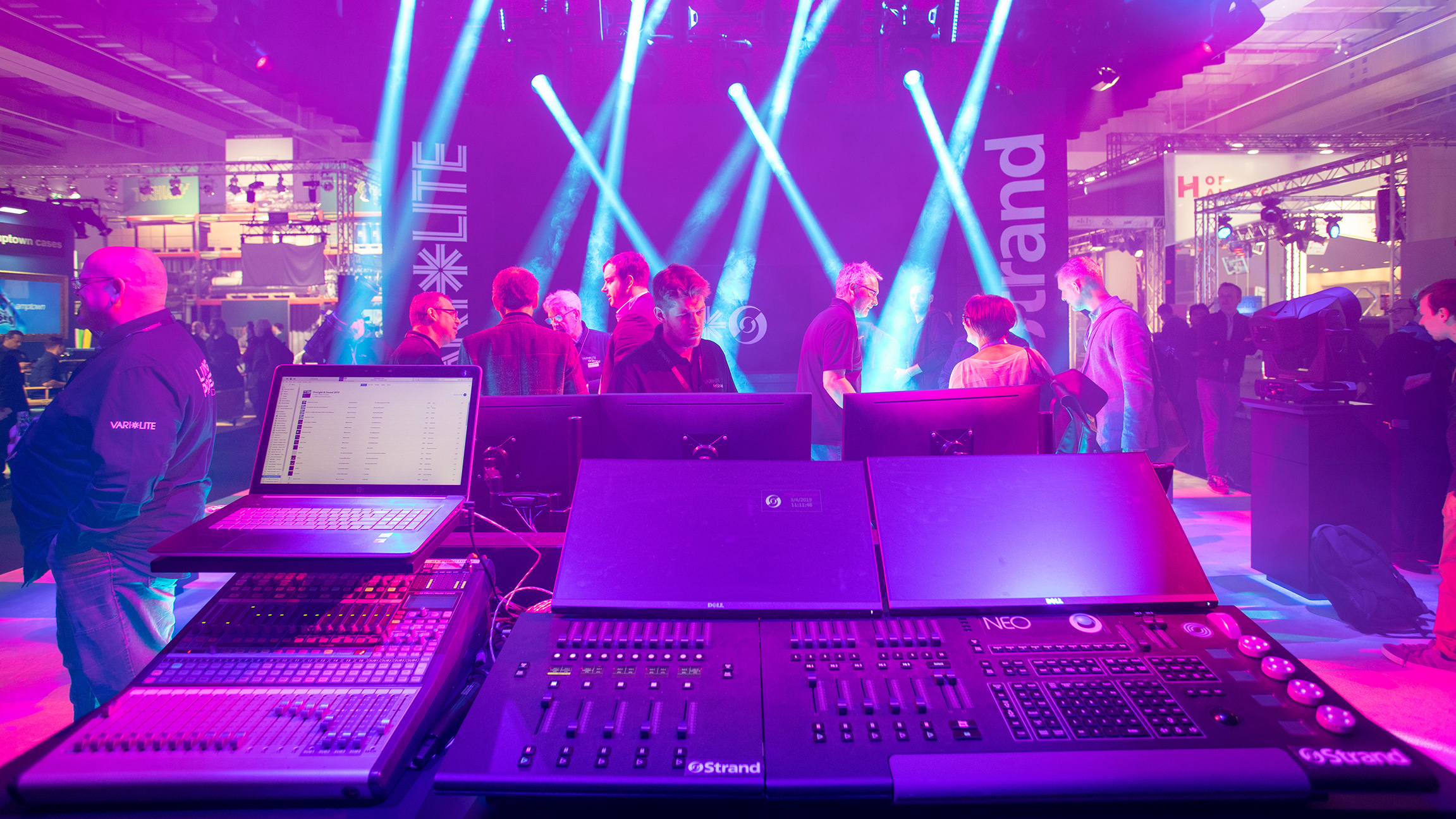 Show and stage lighting and entertainment technology at Prolight + Sound