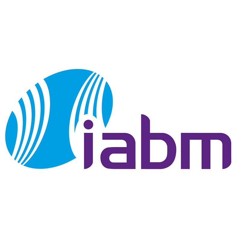 Logo IABM International Trade Association for Suppliers of Broadcast and Media Technology