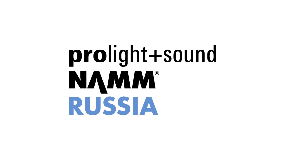Prolight + Sound NAMM Russia Logo