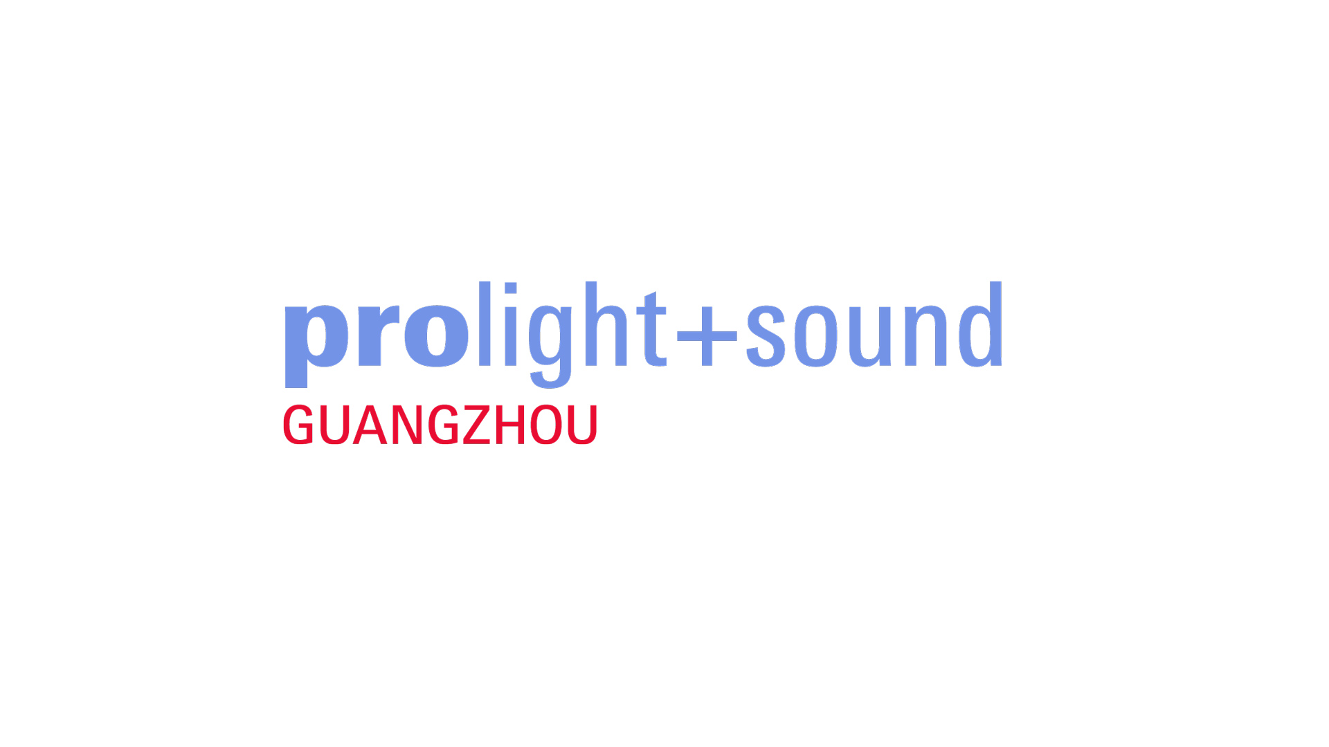 Prolight + Sound Guangzhou Logo