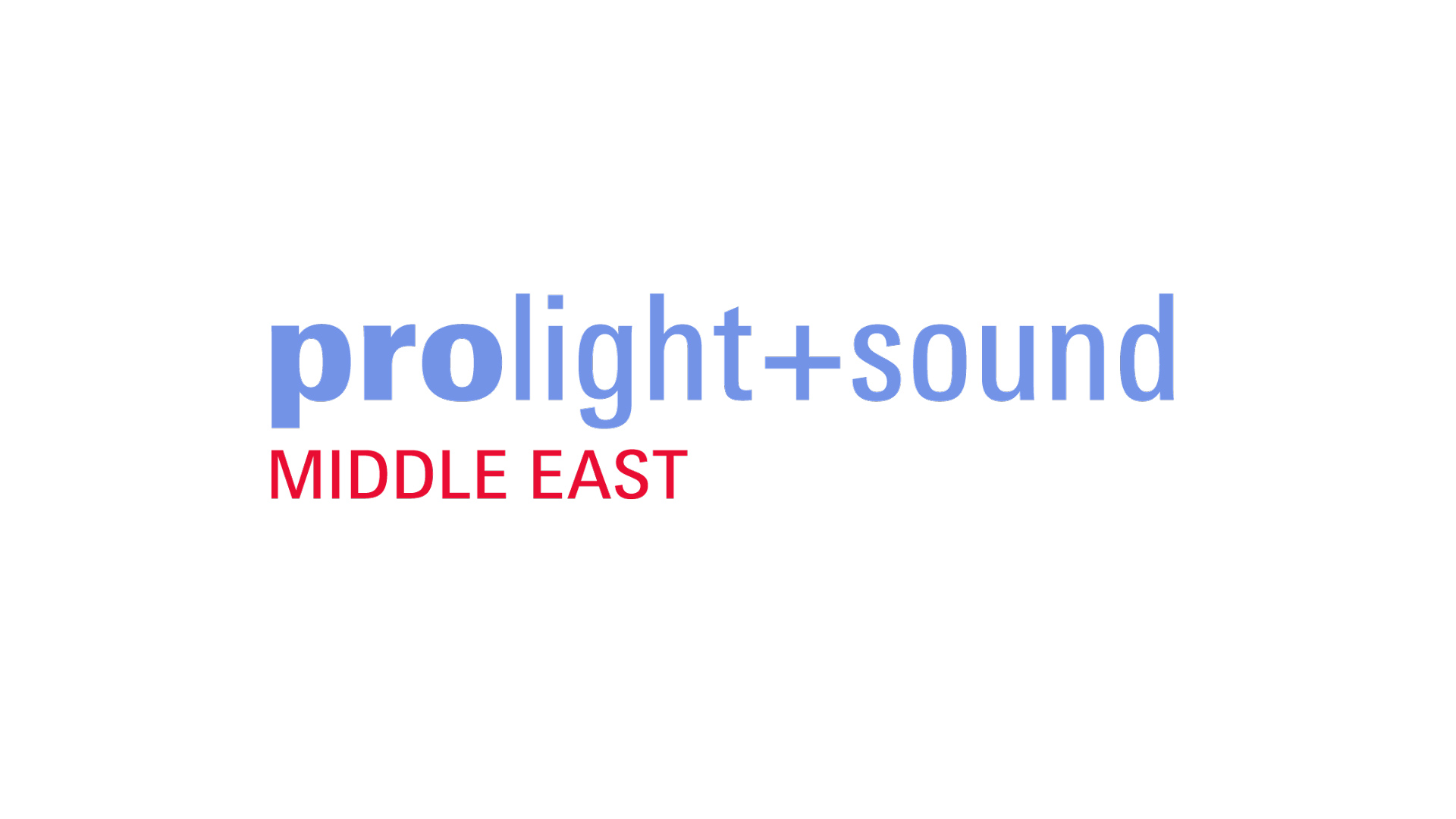 Prolight + Sound Middle East Logo
