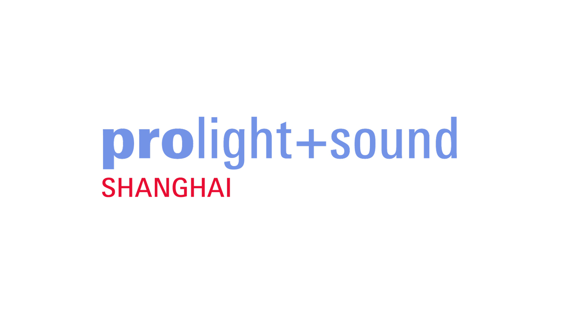 Prolight + Sound Shanghai Logo